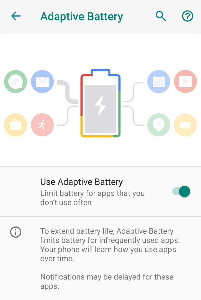 Adaptive Battery causing delayed notifications on Android Pie